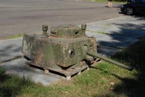 Věž z tanku Strv m/41