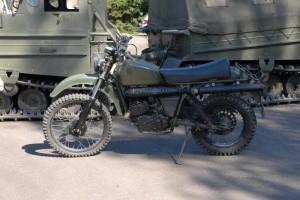Armádní motocykl Husqvarna Mc 258A