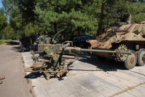 40mm protiletadlový kanón Bofors m/36