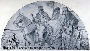 Kresby Mikoláše Alše s husitskými motivy