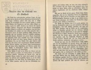 Edice Montercuccoliho relace z 2. srpna 1664, první část.