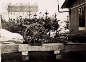 Rakousko-uherský 7 cm horský kanón vzor 1899