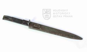 Rakousko-uherský náhradní bodák na rumunskou pušku Mannlicher vzor 1893