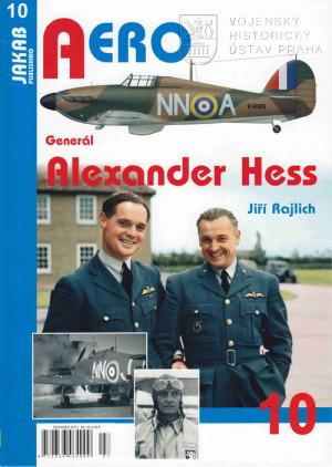 Obálka publikace Generál Alexander Hess. Jakab Publ. 2015