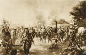 Po průlomu u Gorlice a Tarnówa na počátku května 1915 plnily momentky z velkého ruského ústupu stránky obrázkových magazínů i ve státech Dohody. Tamní veřejnost sledovala s nervozitou, jak ruské armády, které ještě před několika měsíci stály na uherské půdě, či hrozily vpádem do Slezska, ustupují  stále hlouběji na své vlastní území.