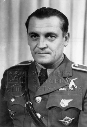 Mjr.let. Alexander Hess koncem roku 1938.