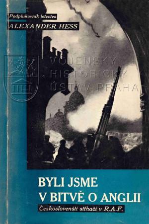 Obálka prvního vydání memoárů Byli jsme v bitvě o Anglii, vydaných v New Yorku v roce 1943.