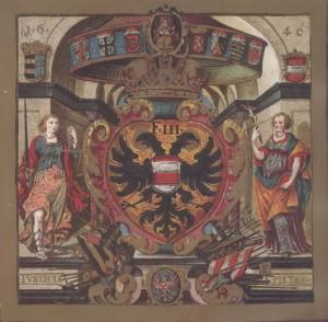 Polepšený znak města Brna z roku 1646
