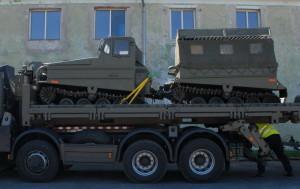 Pásový transportér Volvo BV 202