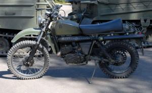 Armádní motocykl Husqvarna