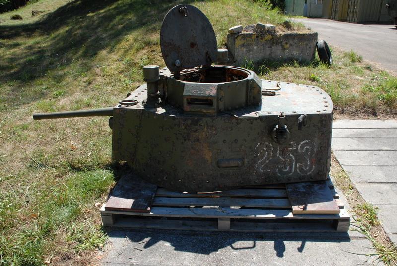 Věž z tanku Strv m41
