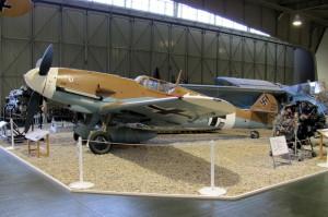 Messerschmitt Bf 109G přestavěný z Ha-1112. FOTO: Ivo Pejčoch