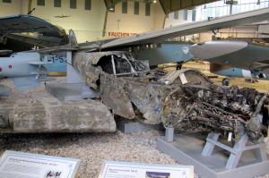 Bf 108 Taifun v nálezovém stavu. FOTO: Ivo Pejčoch
