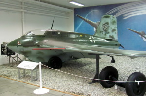 Raketový Messerschmitt Me 163 Komet. FOTO: Ivo Pejčoch