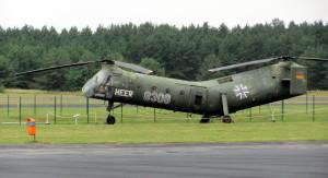 Vrtulník Vertol Piasecki CH-21. FOTO: Ivo Pejčoch