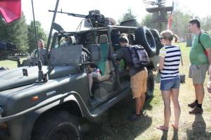 Tankový den ve VTM Lešany 2015