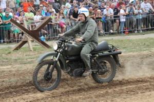 Motorka Husqvarna dovezená ze Švédska