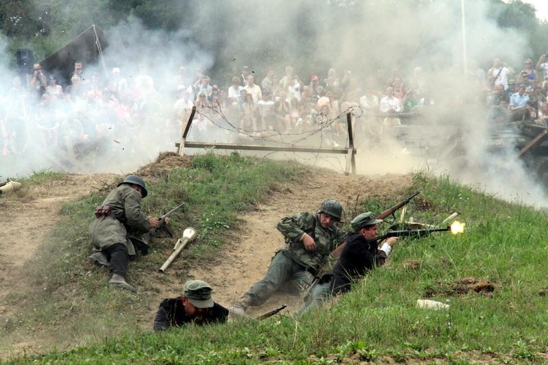 Bojová ukázka