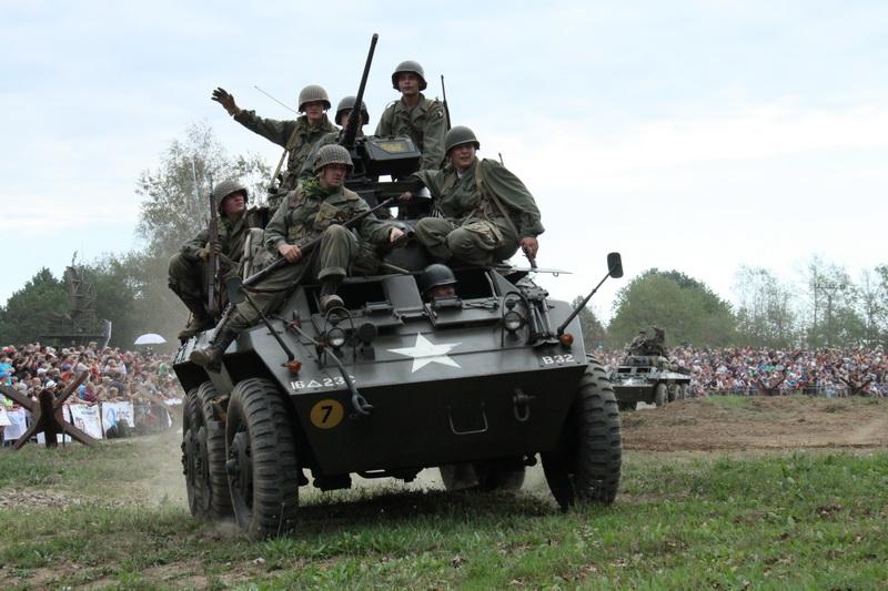 Vozidlo US Army Greyhound