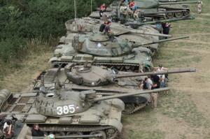 Tanky připravené k prezentaci