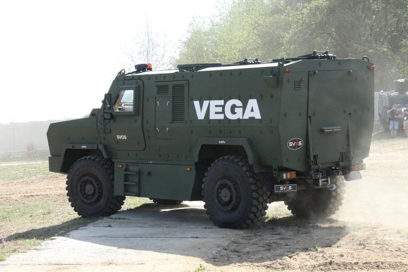 Obrněné vozidlo VEGA, český výrobek na bázi tatrovky