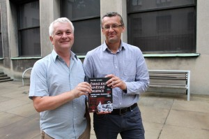 Autoři knihy Ivo Pejčoch (vlevo) a Prokop Tomek