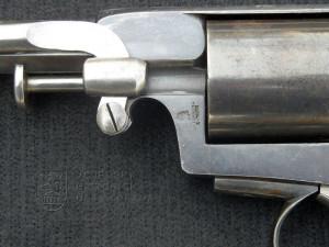 Rakouský perkusní revolver systému Scheinigg 1860