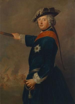 Pruský král Fridrich II.
