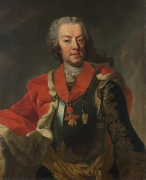 Polní maršál princ Karel Alexander Lotrinský.