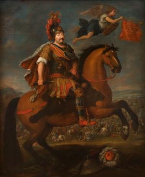 Polský král Jan III. Sobieski