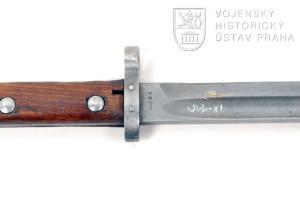 Čs. bodák na pušku Mauser vzor 23