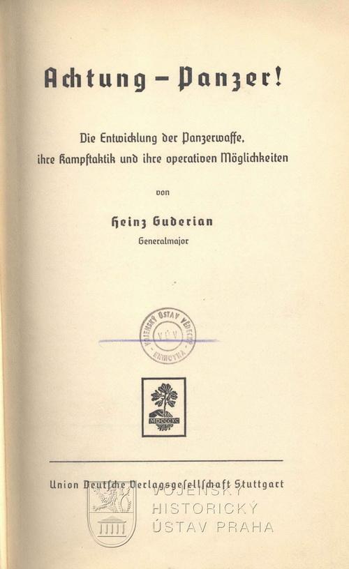 Heinz guderian achtung panzer pdf download