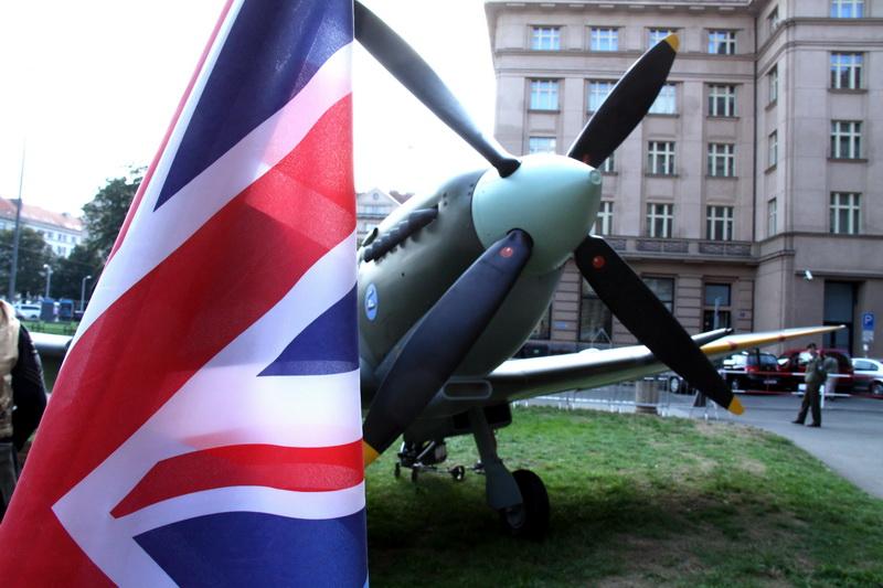 Maketa letounu Supermarine Spitfire