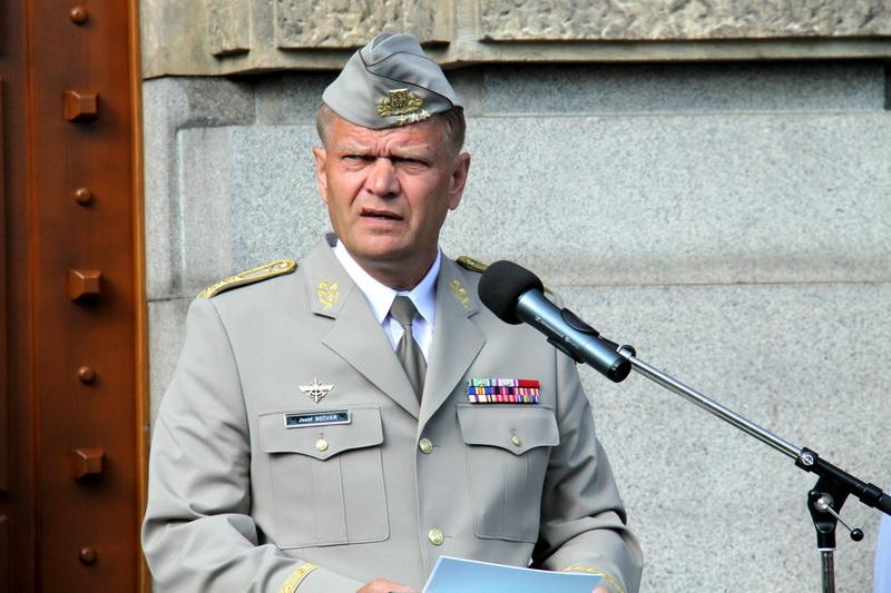 Náčelník Generálního štábu Armády České republiky, generálporučík Josef Bečvář
