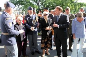 Zahájení výstavy Na nebi hrdého Albionu - Jiří Rajlich provází hosty výstavou