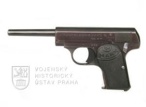 """Pistole Mars 6,35 mm v tzv. """"zákonné délce"""""""