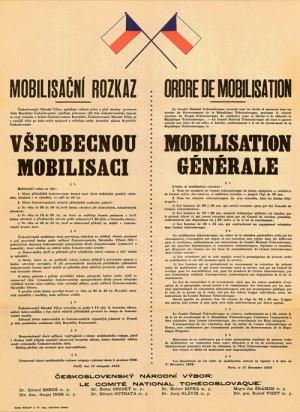 Mobilisační rozkaz ze 17. 11. 1939