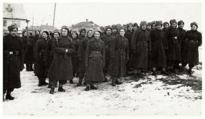 Nástup žen v Buzuluku