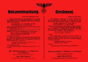 Oznámení o popravě československých generálů