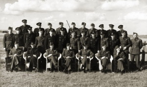 Příslušníci 312. československé stíhací perutě RAF
