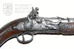 Pistole s florentským křesadlovým zámkem, Itálie, kolem 1785