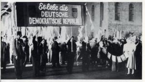 Politické manifestace v bývalé NDR