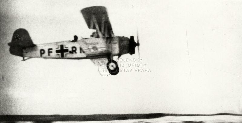 Výcvikový letoun Praga E-39 ve službách německé Luftwaffe