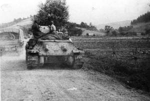 'Z válečných bojů během druhé světové války