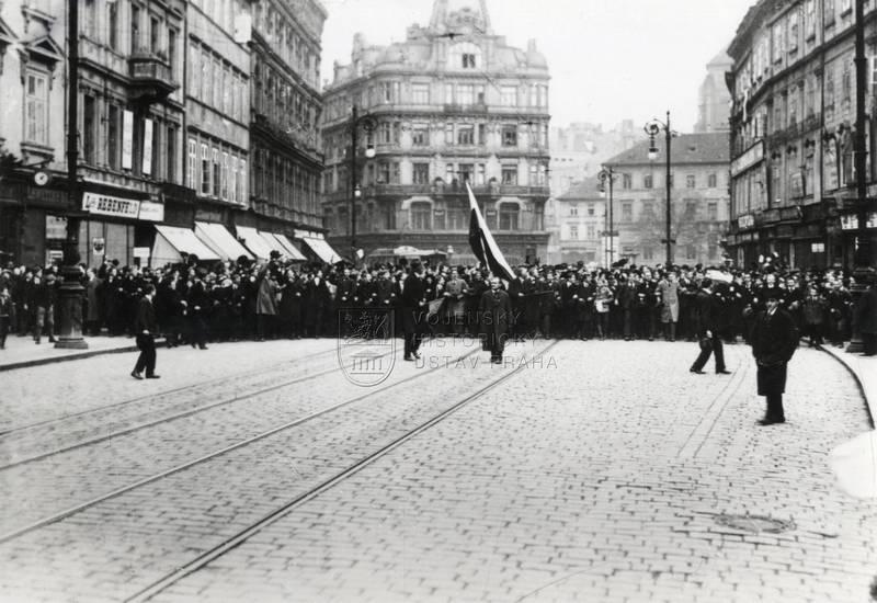 28. říjen 1918, Ferdinandova třída