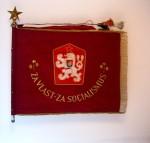 Bojová zástava 7. výsadkového pluku, 1962