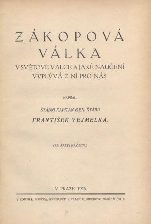 Titulní list knihy.