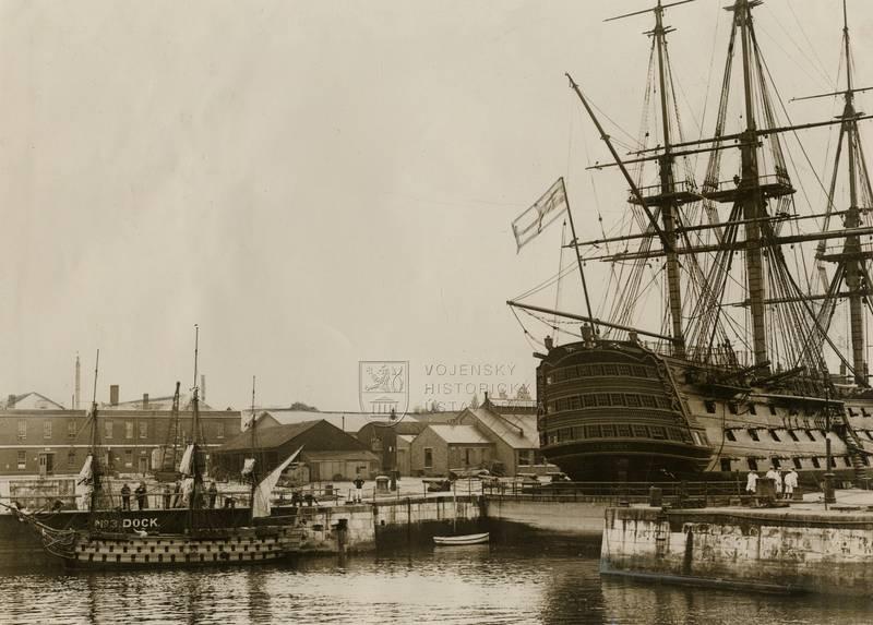 Britská loď Victory – bitva u Trafalgaru