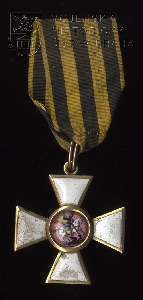 Řád sv. Jiří – IV. třída, rytíř, 1814