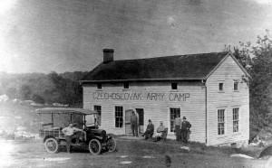 Tábor československých dobrovolníků ve Stamfordu ve státu Connecticut